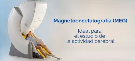La técnica MEG registra los campos magnéticos que de forma natural emite el cerebro.
